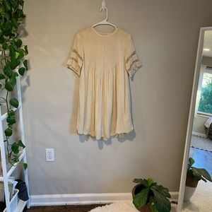 aritzia dress in cream